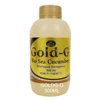 Jelly Gamat 500ml   Gold-G Original 100%