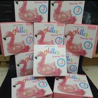 balon renang intex flaminggo tube glitter