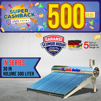 Pemanas Air Matahari IntiSolar 300liter INTI SOLAR WATER HEATER IN30