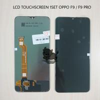 LCD TOUCHSCREEN OPPO F9 PRO F 9 HITAM ORIGINAL