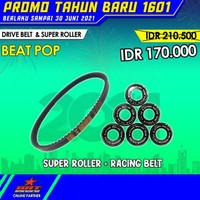 Paket Super Roller & V Belt BRT Honda Beat Pop