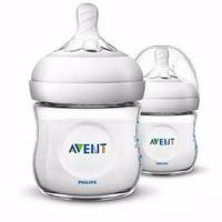 Philips Avent Botol susu bayi Dot Natural 2.0 isi 2 botol - 125ml - Clear