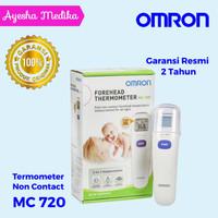 omron termometer forehead MC 720 / termometer non contact omron mc 720