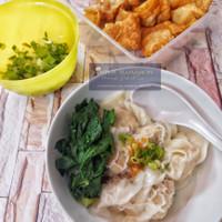 Pangsit Ayam Udang Frozen Premium Full Daging