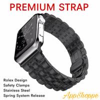 Apple Watch Strap Series SE 6 5 4 3 2 1 STAINLESS STEEL ROLEX Premium