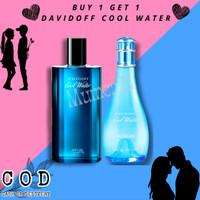 BUY 1 GET 1 FREE PARFUM DAVIDOFF COOL WATER ORIGINAL SINGAPORE COUPLE