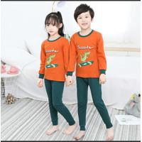 Baju Piyama Anak Utk Couple Usia 1-12 Tahun Import
