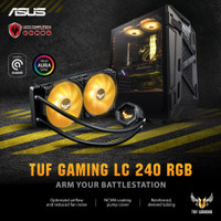ASUS TUF GAMING LC 240 RGB   AIO Water Cooling 240mm with RGB Fan