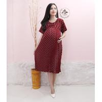 Baju Hamil Dress Hamil Menyusui Maternity XL DS-15