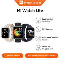 Xiaomi Official Mi Watch Lite Fitness Smartwatch 11 Mode Olahraga