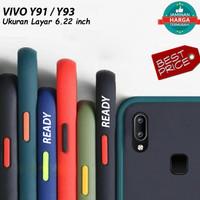 Casing Vivo Y91/Y95 Case Armor Colored Frosted Fuze