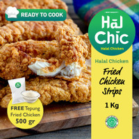 Fried Chicken Strips HalalChicken 1 kg