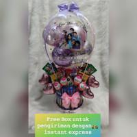 Buket Balon/ buket bunga/ balon box/ balloon bouque led