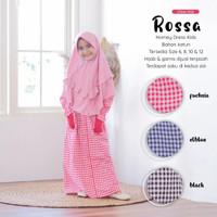 Gamis Anak TK SD Home Dress Kids Baju Ngaji Bahan Rayon Size 6 8 10 12