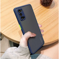 Casing Oppo Reno 4 Frosted Matte Anti Drop Soft Shell Case 1954 - Hitam