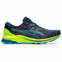 Sepatu Asics GT - 1000 10 Men's Running Shoes - French Blue Aqua