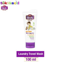 Sleek Baby Laundry Travel Wash 100ml Deterjen Detergen bayi sabun cuci