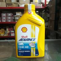 Oli Shell Advance AX5 15W/40 0.8L