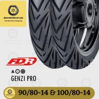 1 Set Ban Motor FDR Genzi Pro Ring 14 90/80 - 100/80 Tubeless