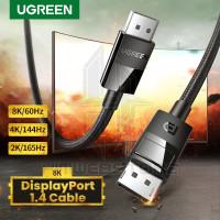 UGREEN 80392 Kabel DP Display Port 1.4 Male To DP 8K UHD HDR Video