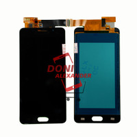 LCD TOUCHSCREEN SAMSUNG GALAXY A5 2016 A510 COMPLETE KONTRAS BISA - Hitam