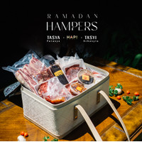 Hampers Idul Fitri Hapimeats X Tasya Farasya & Tasyi Athasyia