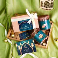 Hampers Lebaran Idul Fitri / Parcel Lebaran (Ramadhan) - Cookies 2 Jar
