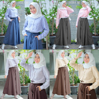 Baju Setelan Anak/Remaja Muslim Atasan & Celana Jaeeda Set
