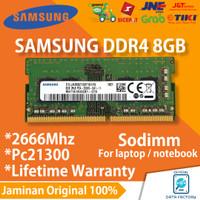 RAM LAPTOP SAMSUNG DDR4 8GB SODIMM 2666Mhz PC21300 NOTEBOOK MEMORY ORI