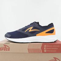 Sepatu Running/Lari Specs Alphacharge Indigo Orange 200643 Original