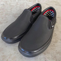 Vans Slip On Pro Skate Black Black Original BNIB