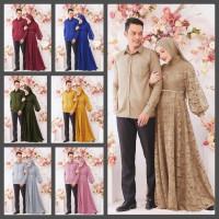 Baju couple family/Cp modern/Pasangan casual/Kemeja set dress/Murah
