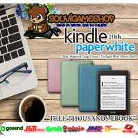 Amazon Kindle Paperwhite 10th Gen EBook Reader Waterproof 8GB Ads