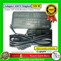 Adaptor Charger Asus ROG Strix II GL704 GL704GV GL704GM GL504GW GL504G - Hitam
