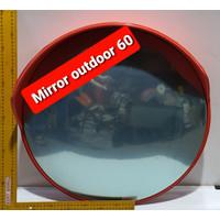 Convex Mirror Kaca Cermin Cembung 60 cm Outdoor Simpang Jalan