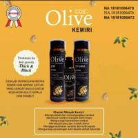OLIVE KEMIRI PAKET 3IN1 SHAMPO + CONDITIONER + MINYAK KEMIRI BPOM