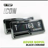 Cover plat nomor motor Icon aksesoris variasi Beat Vario 125 150s