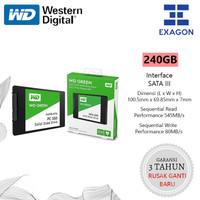 SSD WD Green 240GB 3D NAND SATA 2.5 7mm