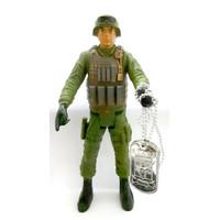 Mainan Anak Cowok Figure Tentara Indonesia Plus Alat Perang