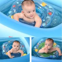 Pelampung Baby Duduk Ban Renang Bayi Seat Swim Ring Baby - Merah Muda