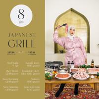 Japanese Grill Package Hapimeats X Tasya Farasya & Tasyi Athasyia 8pax