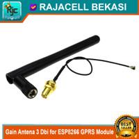 Gain Antena 3 Dbi for ESP8266 wifi Or GSM GPRS Module