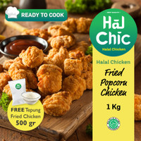 Fried Popcorn Chicken HalalChicken 1 kg