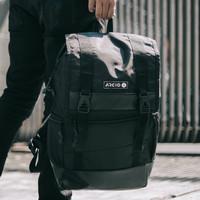 JASON BLACK  MNM x ARCIO  Tas Ransel Pria Backpack Pria Tas Punggung - Black