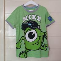 baju kaos anak Mike disney Monster University Hongkong Disneyland ori