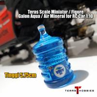 Scale Miniatur / Figure Galon Aqua / Air Mineral for RC Car 1:10