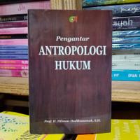 pengantar antropologi hukum hilman