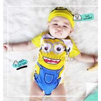 Baju Anak Bayi Jumper Bayi Lucu Minion