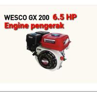 Gasoline Engine Wesco GX 200 Mesin Penggerak Bensin 4 Tak