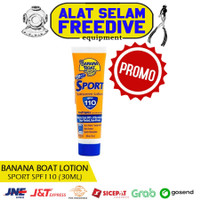 Banana Boat Lotion Sunblock Badan Sport Cream Sunscreen SPF 110 30ml